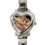 tabula_wallpaper-145984 Heart Italian Charm Watch