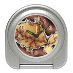 tabula_wallpaper-145984 Travel Alarm Clock