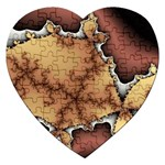 tabula_wallpaper-145984 Jigsaw Puzzle (Heart)