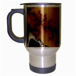 tabula_wallpaper-145984 Travel Mug (Silver Gray)