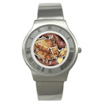 tabula_wallpaper-145984 Stainless Steel Watch
