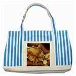tabula_wallpaper-145984 Striped Blue Tote Bag