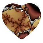 tabula_wallpaper-145984 Heart Ornament (Two Sides)