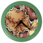 tabula_wallpaper-145984 Color Wall Clock