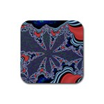 fractal_supiart_wallpaper-816331 Rubber Square Coaster (4 pack)