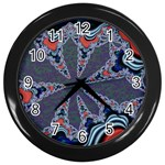 fractal_supiart_wallpaper-816331 Wall Clock (Black)
