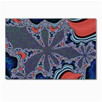 fractal_supiart_wallpaper-816331 Postcard 4 x 6  (Pkg of 10)