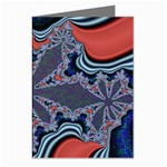 fractal_supiart_wallpaper-816331 Greeting Cards (Pkg of 8)