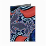 fractal_supiart_wallpaper-816331 Mini Greeting Cards (Pkg of 8)