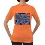 fractal_supiart_wallpaper-816331 Women s Dark T-Shirt