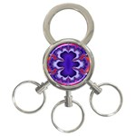 fractal_wallpaper-212207 3-Ring Key Chain