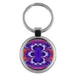 fractal_wallpaper-212207 Key Chain (Round)