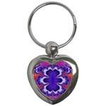 fractal_wallpaper-212207 Key Chain (Heart)