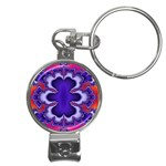 fractal_wallpaper-212207 Nail Clippers Key Chain