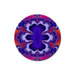 fractal_wallpaper-212207 Rubber Coaster (Round)