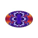 fractal_wallpaper-212207 Sticker (Oval)
