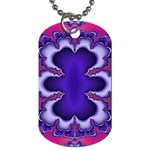 fractal_wallpaper-212207 Dog Tag (Two Sides)