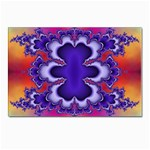 fractal_wallpaper-212207 Postcards 5  x 7  (Pkg of 10)