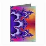 fractal_wallpaper-212207 Mini Greeting Card