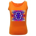 fractal_wallpaper-212207 Women s Dark Tank Top