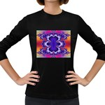 fractal_wallpaper-212207 Women s Long Sleeve Dark T-Shirt