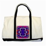 fractal_wallpaper-212207 Two Tone Tote Bag