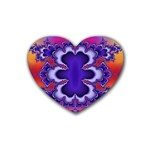 fractal_wallpaper-212207 Rubber Coaster (Heart)