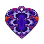 fractal_wallpaper-212207 Dog Tag Heart (One Side)