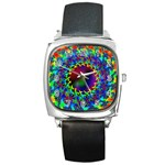 goa2-97848 Square Metal Watch