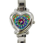 goa2-97848 Heart Italian Charm Watch