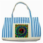 goa2-97848 Striped Blue Tote Bag