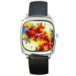 goglow-153133 Square Metal Watch
