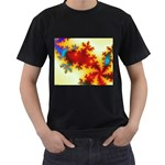 goglow-153133 Black T-Shirt (Two Sides)