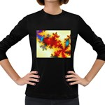 goglow-153133 Women s Long Sleeve Dark T-Shirt