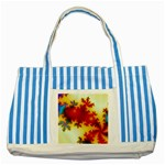goglow-153133 Striped Blue Tote Bag