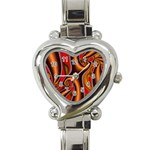 3z28d332-625646 Heart Italian Charm Watch