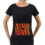 3z28d332-625646 Maternity Black T-Shirt