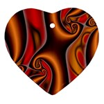 3z28d332-625646 Heart Ornament (Two Sides)