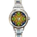 Bobo-660847 Round Italian Charm Watch