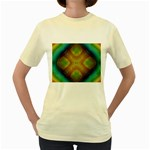 Bobo-660847 Women s Yellow T-Shirt