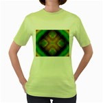 Bobo-660847 Women s Green T-Shirt