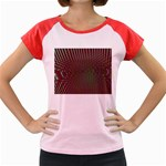 Spiral-Abnorm%2001-601877 Women s Cap Sleeve T-Shirt