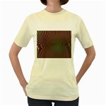 Spiral-Abnorm%2001-601877 Women s Yellow T-Shirt
