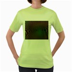 Spiral-Abnorm%2001-601877 Women s Green T-Shirt