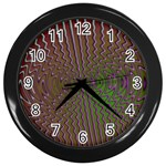Spiral-Abnorm%2001-601877 Wall Clock (Black)