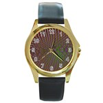 Spiral-Abnorm%2001-601877 Round Gold Metal Watch