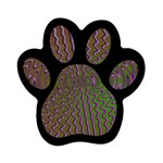Spiral-Abnorm%2001-601877 Magnet (Paw Print)