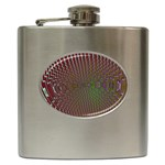 Spiral-Abnorm%2001-601877 Hip Flask (6 oz)