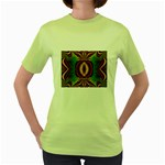 Toxic_Wave-838095 Women s Green T-Shirt