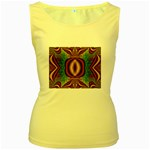 Toxic_Wave-838095 Women s Yellow Tank Top